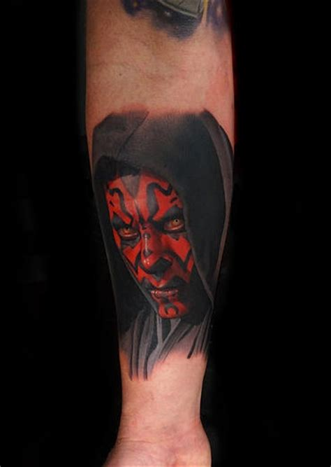 darth maul tattoo design realistic darth maul best ideas gallery