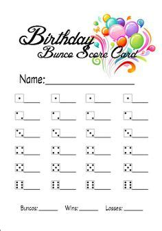 free bunco cards templates 1000 images about bunco on bunco