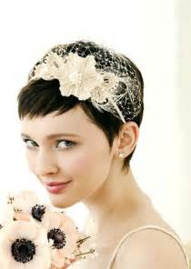 Memorable wedding elegant wedding hairstyles for short hair