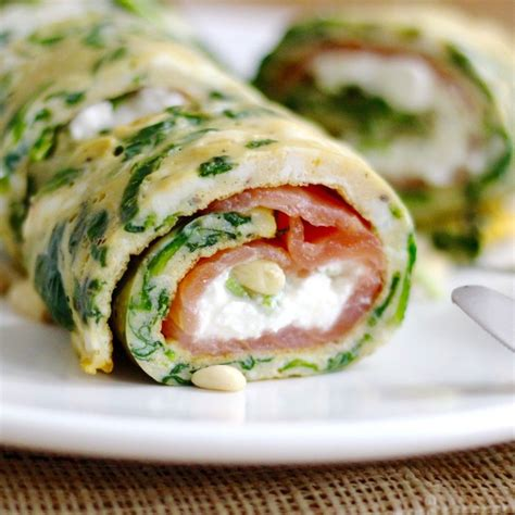 cottage cheese lunch ideas spinazie omelet met zalm en cottage cheese delicious