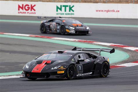 Lamborghini Racing Day New Lamborghini Series Featured Alongside National Racing