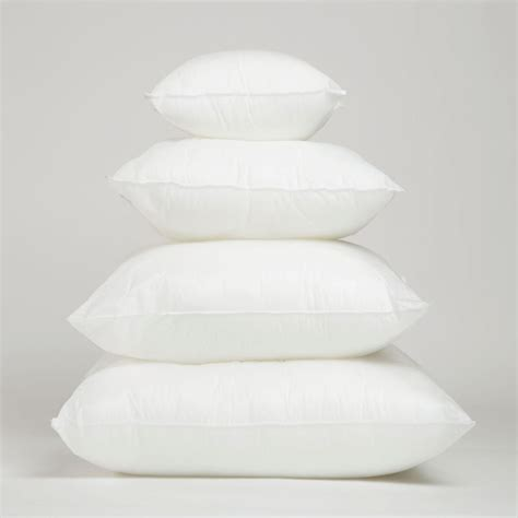 new square pillow form insert all sizes made in