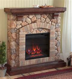 stacked electric fireplace heater electric