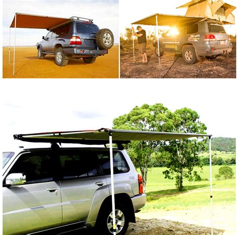 2 5x3m pull out car side awning roof top tent trailer 4wd