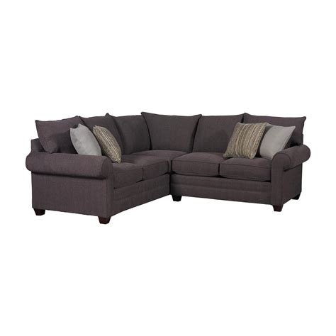 sectional chairs alex sectional sofa by bassett furniture bassett