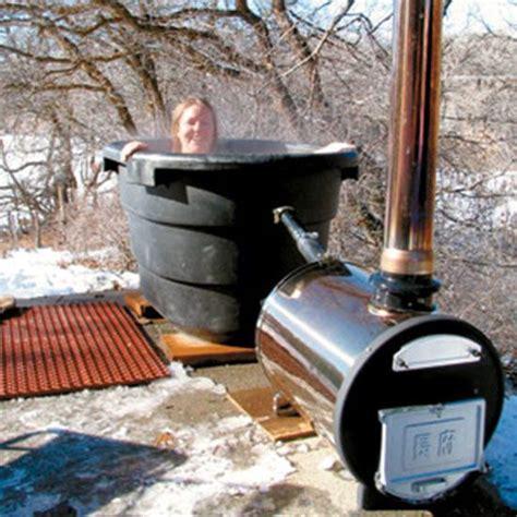 feuerstellen im garten 1646 country lore wood fired tub diy diy outdoor decor