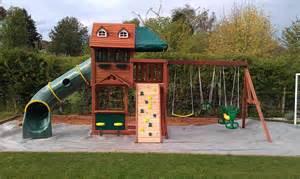 Backyard Playset Plans Sheridan Cubby House Climbing Frame