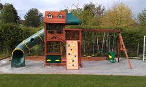 Sheridan cubby house climbing frame