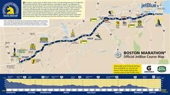 marathon map boston marathon 2017 route date start time tv schedule