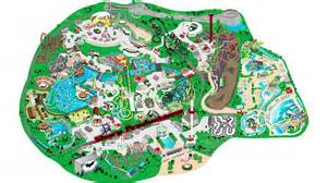 six flags great america interactive map