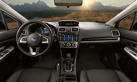 subaru crosstrek 2017 interior all new 2017 subaru crosstrek gallery