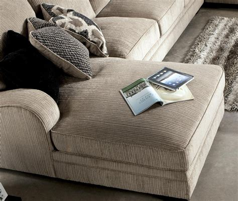 fabric chaise sectional with ottoman fabric sectional sofas with chaise beige and brown leather