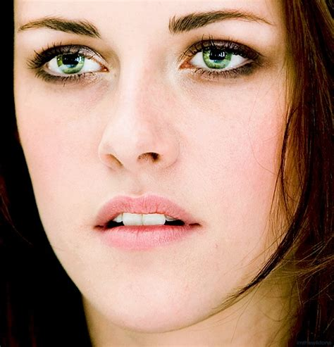 Green Eyed by Green Kristen Stewart Green Eyed