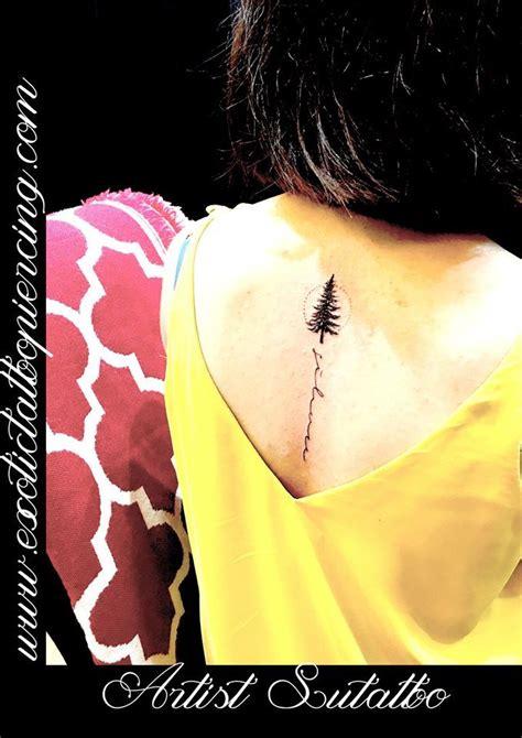 tattoo piercing singapore pine tree coniferous tree tattoo artist su for