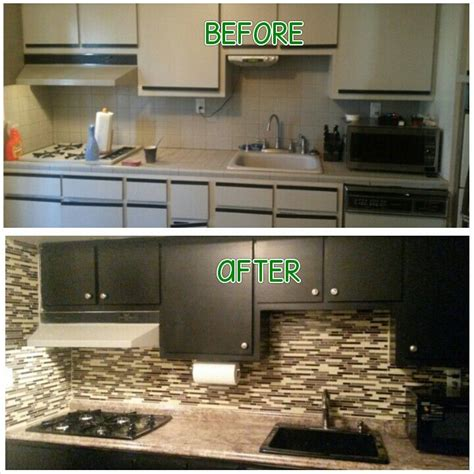 Kitchen Cabinet Painting Kit Painted Our Cabinets Using Nuvo Cabinet Paint Kit What A Difference Www Nuvocabinetpaint