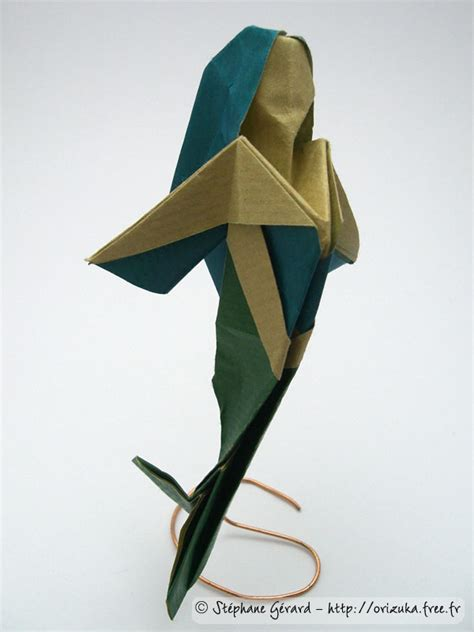 Origami Mermaid - mermaid origami statue mermaid statues mermaid statues