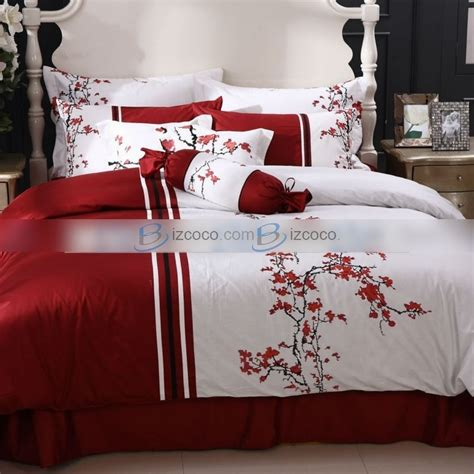 red and white bedding red for queen size comforter sets for sale hot girls