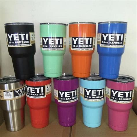 Aliexpress Yeti Cooler | wholesale 60pcs lot 13 colors 304 stainless steel 30 oz