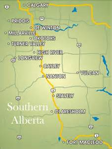 map of high river alberta canada southern alberta pictures to pin on pinsdaddy