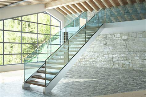 treppen aus glas treppen metall innen xj06 hitoiro