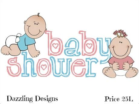 Unisex Baby Shower by Second Marketplace Unisex Baby Shower Decal
