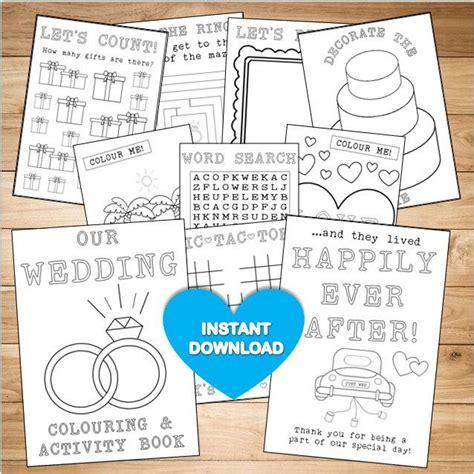 book pdf free wedding colouring activity book printable coloring