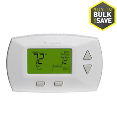 Shop Honeywell Rectangle Electronic Non Programmable Thermostat at Lowes.com