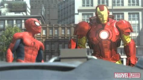 marvel ironman and hulk in film spider man iron man and the hulk full and hq youtube