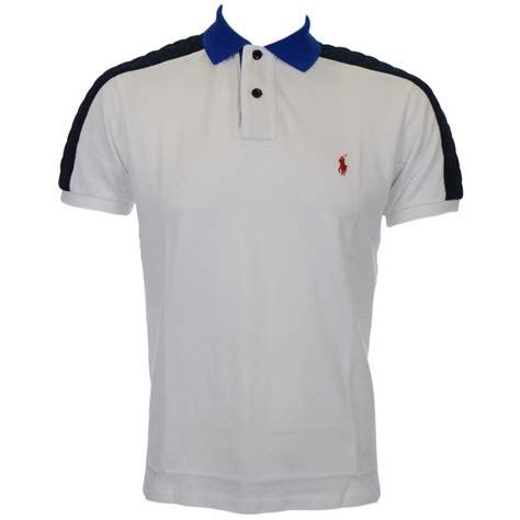 custom shirts polo ralph custom fit white polo shirt polo ralph from n22 menswear uk