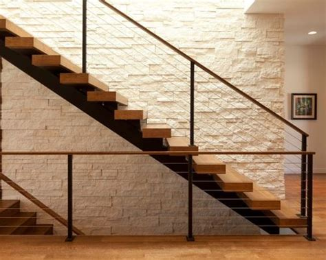 Modern Staircase Wall Design Modern Staircase Design Ideas Remodels Photos