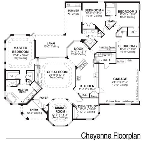 floor plan sles kemp design services
