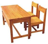 Kursi Kayu Kelas kursi meja belajar toko furniture kayu jati