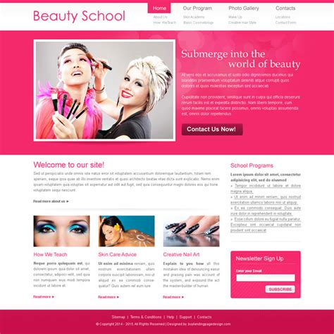beauty schools directory blog beauty schools directory flat 30 special discount offer on website template psd