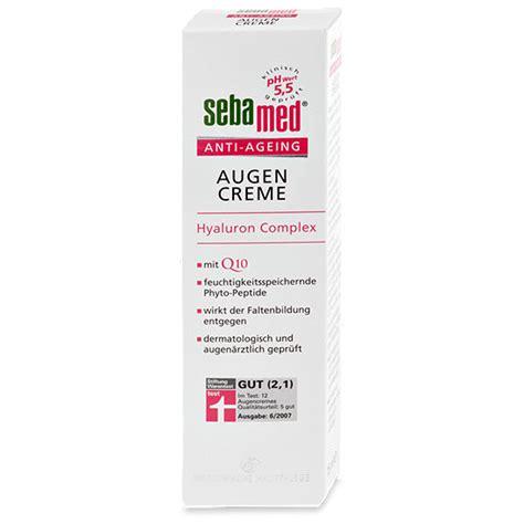 Shoo Sebamed sebamed anti ageing augencreme hyaluron complex