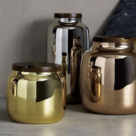 silver kitchen canisters chic design ideas for a grey kitchen