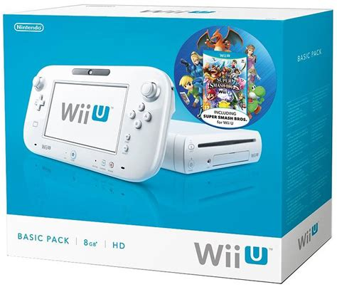 wii u console prices nintendo wii u basic incl smash bros