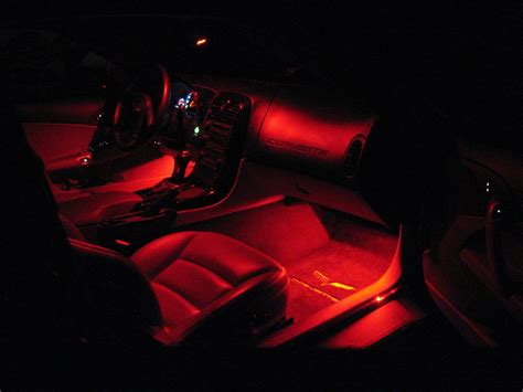 c6 corvette led footwell lighting kit