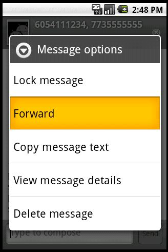 android forward text message - Forward Text Messages Android