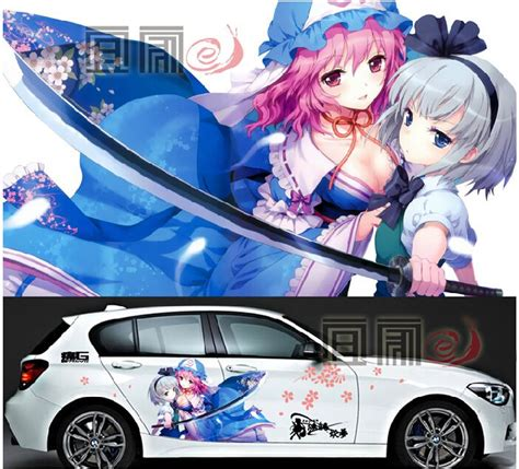 Stiker Anime Kurumi Vinyl 46 best images about unikue custom decals anime 241 241 y on fighter cars and