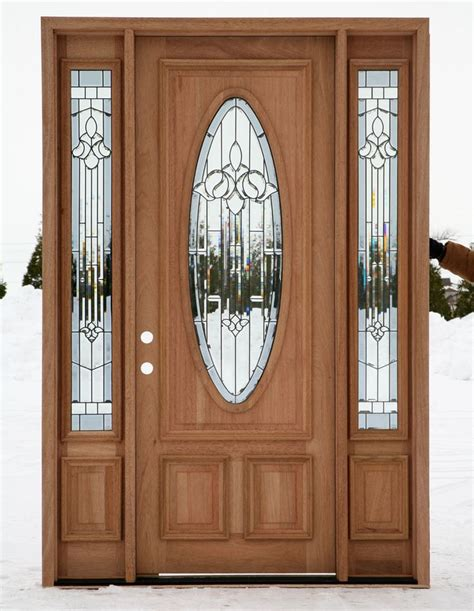 198 Best Entrance Door Images On Pinterest Entrance Glass Entry Doors With Sidelights