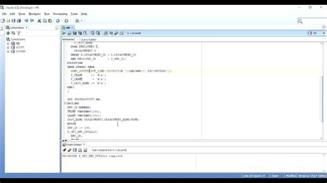 tutorial oracle procedure how to return multiple values from a procedure in oracle