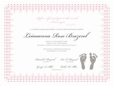 View Birth Records Free Reborn Birth Certificate Template Free Gallery Templates