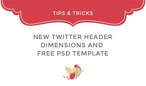 new twitter header psd template fancy girl designs