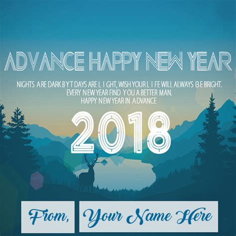 new year 2018 name advance new year 2018 wishes name editor photo sent