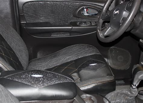 Black Car Interior by Automotive Roje Leather
