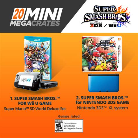 3ds Giveaway - loot crate wii u 3ds giveaway super smash bros for each ign boards