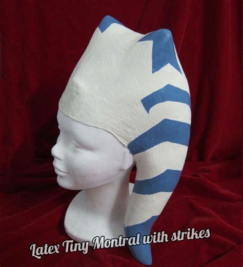 latex headpiece tutorial latex tiny montral twilek paradise