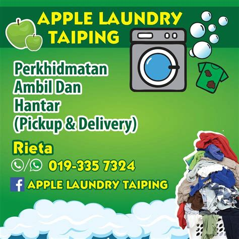 Harga The Shop Clean Free Sun apple laundry taiping 17 photos professional service