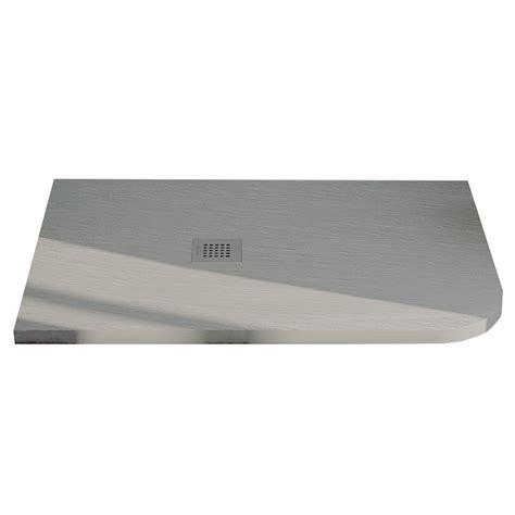 piatto doccia 80x90 piatto doccia 80x90 semicircolare effetto ardesia