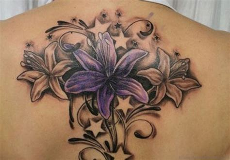 pictures of flower tattoos 39 adorable flower tattoos on back